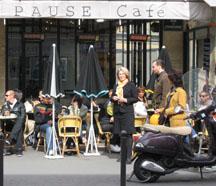 Paris Pause Cafe - Pat